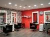 plano general sillas señorade la peluquería Coronado en Hospitalet